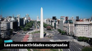 Las Nuevas Actividades Exceptuadas De La Cuarentena