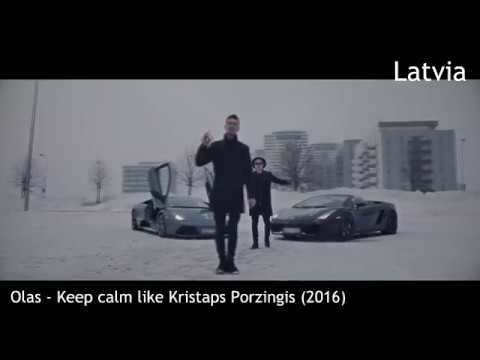 Rap/Hip Hop song from every NORTHERN EUROPEAN/NORDIC COUNTRY