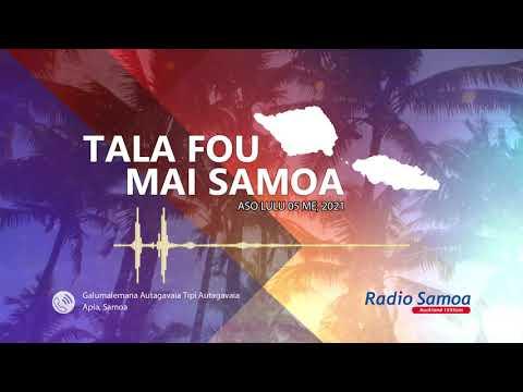 Radio Samoa - News from Samoa (05 MAY 2021)