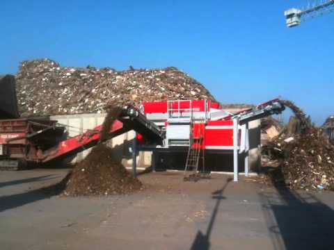 01 - Recycling wood - ECOSTAR dynamic screening system