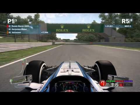 F1 2014 - Rennen ohne Fahrhilfen