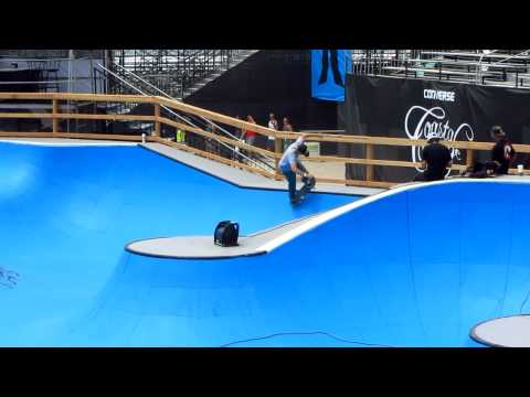 2012 Nike US Open Of Surfing - Huntington Beach, CA - Pro Skateboarder By Painted Shark