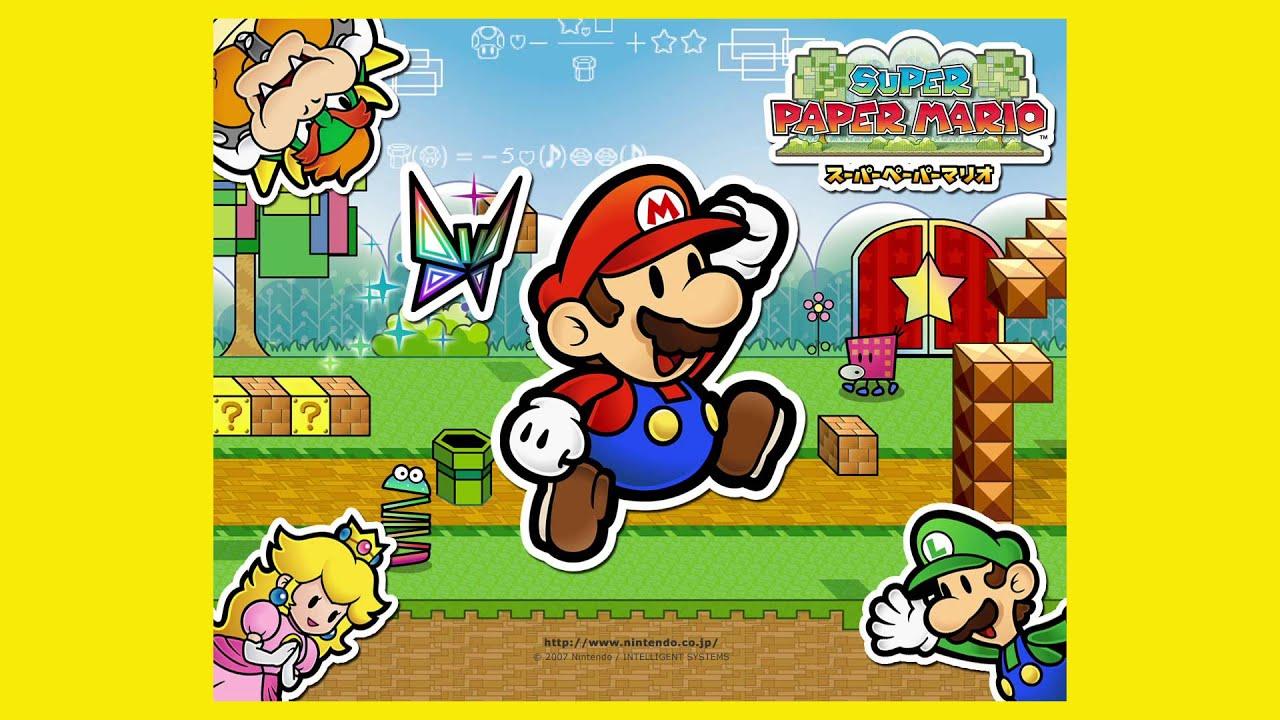 スーパー ペーパーマリオ bgm 【Wii】スーパーペーパーマリオ BGM集 /