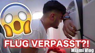 MIAMI FLUG VERPASST ?! (VLOG) |  FaxxenTV