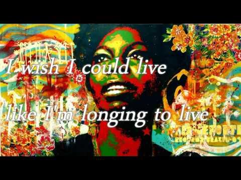 NINA SIMONE - I wish i knew how it would feel to be free-LYRICS