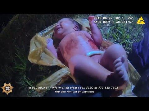 Video | Yol kenarına atılan poşetten yeni doğmuş bebek çıktı