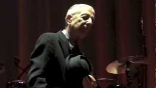 Leonard Cohen, So long Marianne followed by First we Take Manhattan, Amsterdam  22-08-12