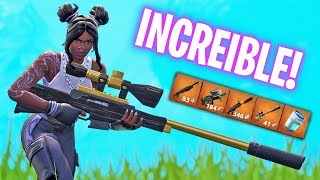 CETTE PEAU DONNE DE LA CHANCE! Fortnite Battle Royale - Luzu