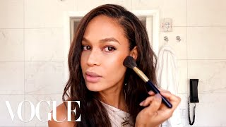 Joan Smalls' Guide to Sculpting-Not Contouring!-Your Skin | Beauty Secrets | Vogue