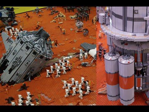 Lego Star Wars MOC Geonosis Battle IDS Interview Part 1 - YouTube