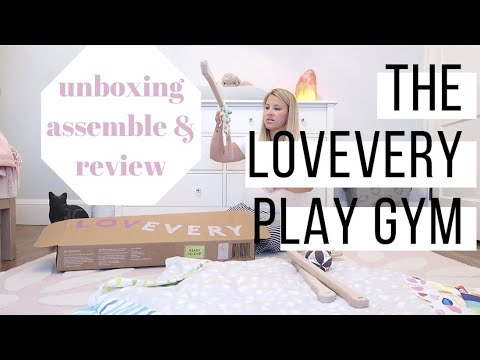 LOVEVERY PLAY GYM REVIEW | THE ULTIMATE PLAY MAT FOR BABYS FIRST YEAR