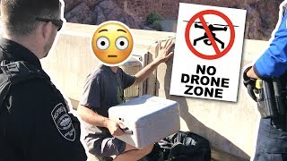 ILLEGAL DRONE FLYING (NO FLY ZONE) - NEVER DO THIS
