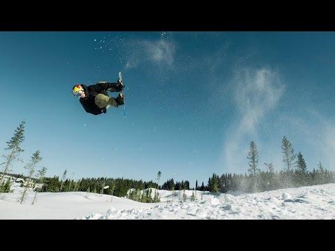 Skier Øystein Bråten Snowboarder Marcus Kleveland Swap Sports for a Day