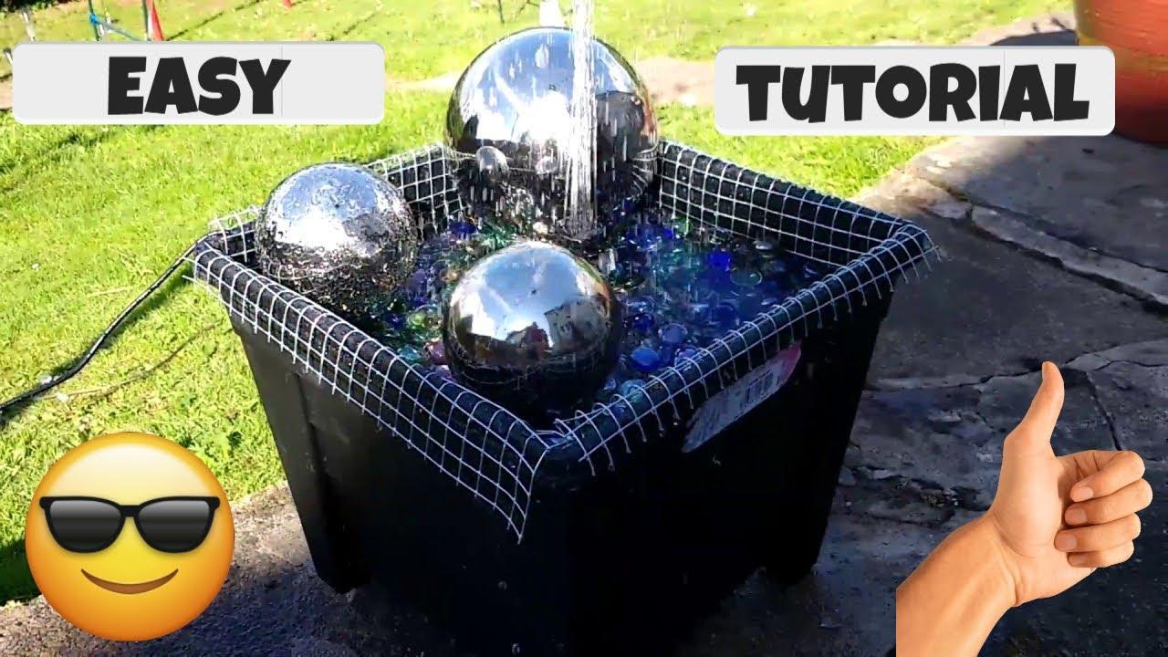 Own Solar Water Fountain