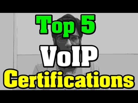 🔻Top 5 VoIP Certifications - Voice over IP Certifications 🔺