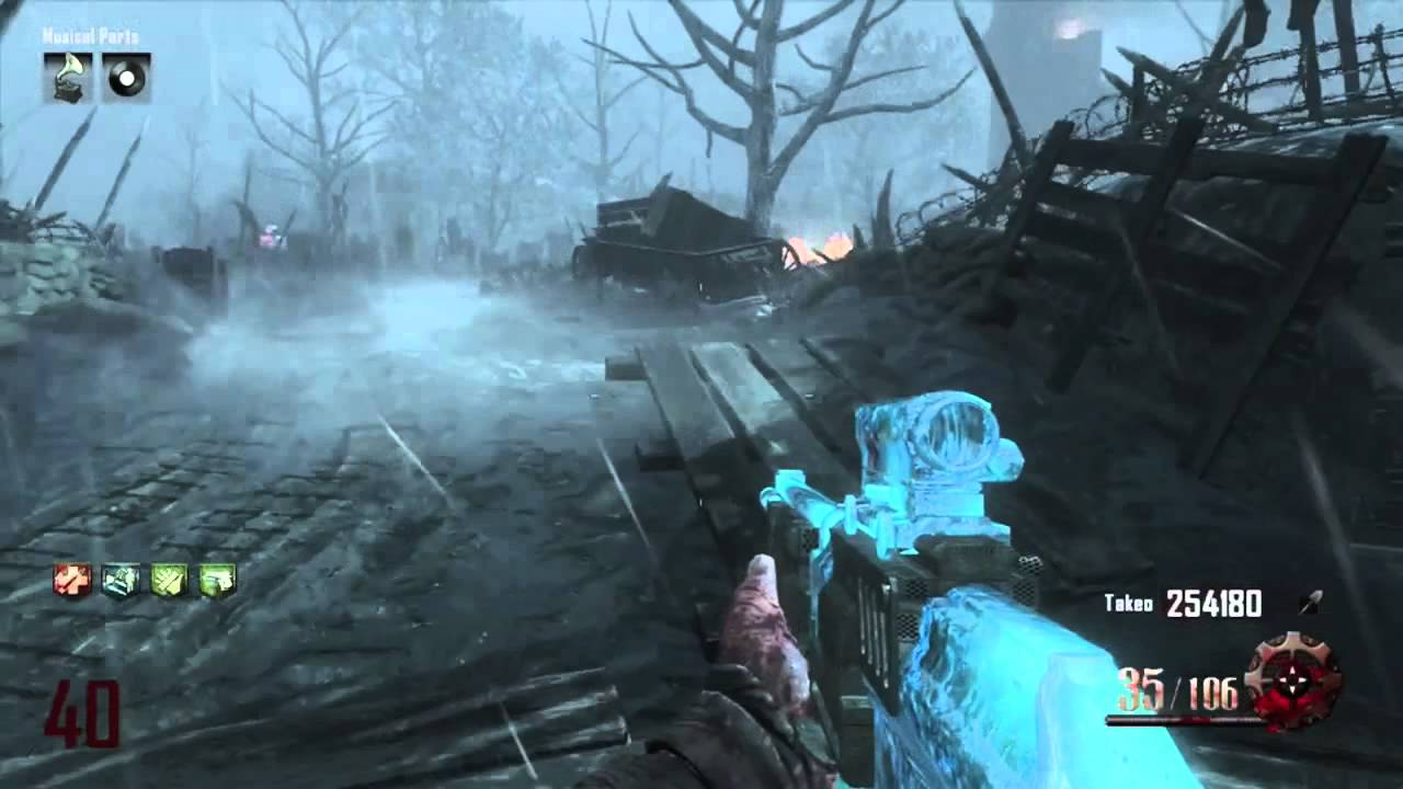 Origins Zombies How to Unlock Easter Egg song Archangel with