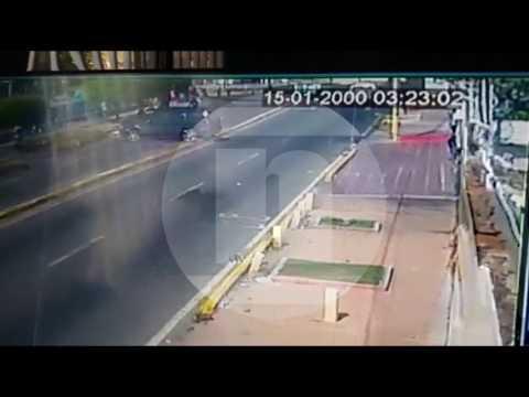 Video del arrollamiento de Paul Moreno