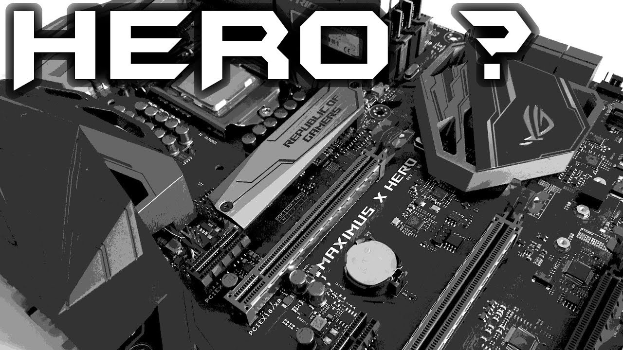 ASUS MAXIMUS X HERO - Overclocking Test and Guide 8700K (en)