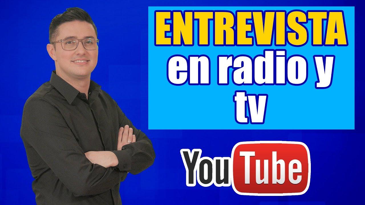 Consejo Cómo hacer una entrevista para radio o tv
