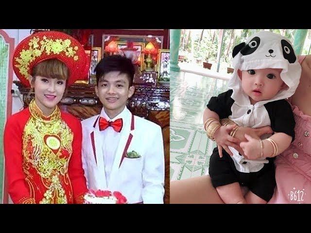Cặp đôi vợ 9x chồng 2k ở Tiền Giang vừa sinh con gái, nhìn mặt đứa trẻ ai cũng bất ngờ