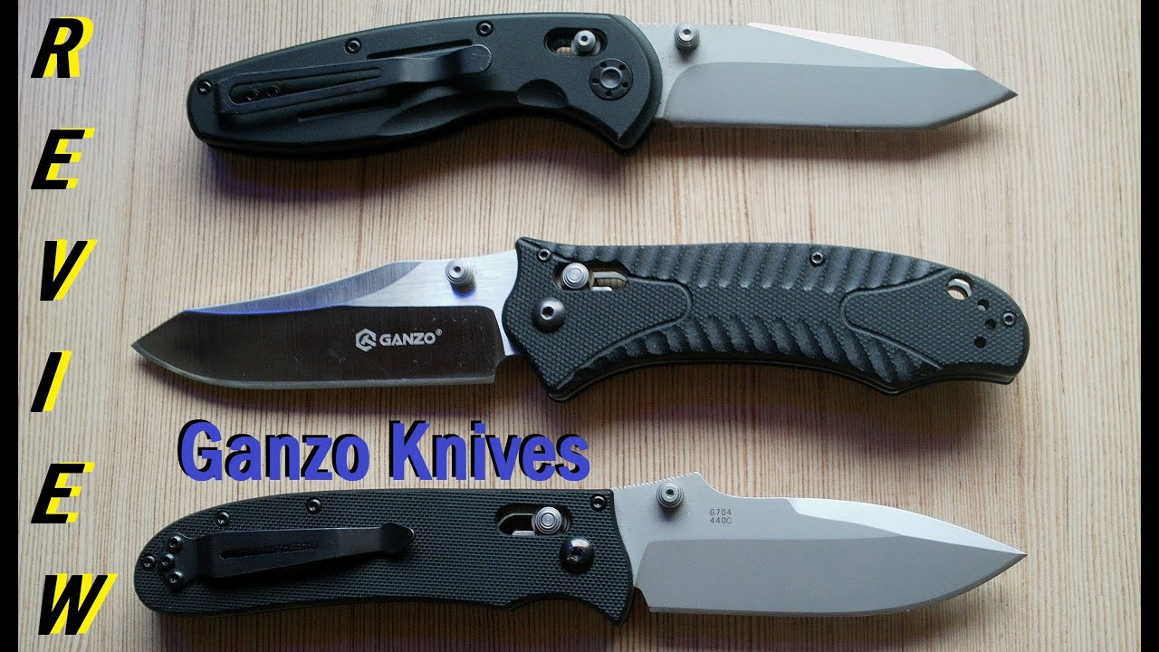 knives review ganzo knives review youtube