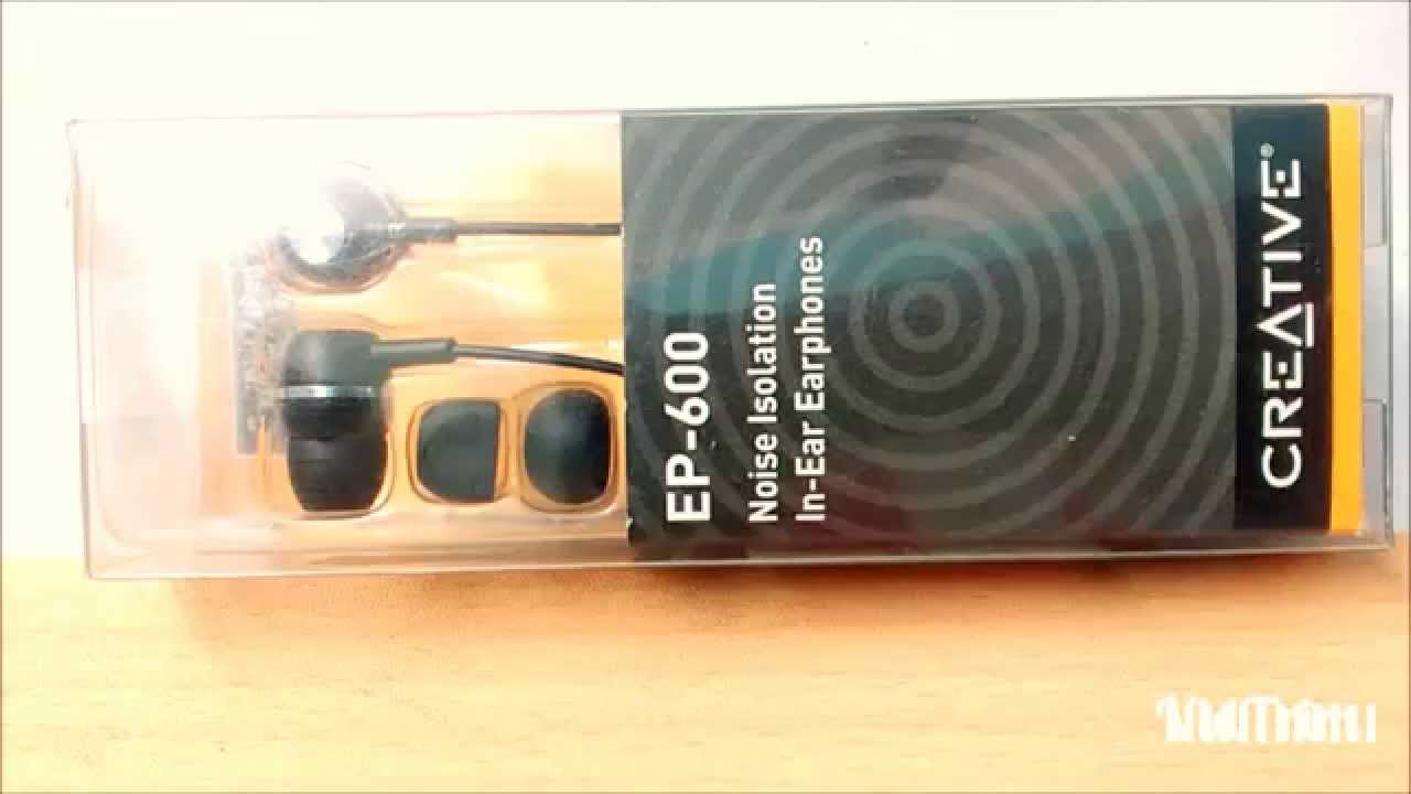 Creative Ep 600 Budget Earphone Full Review After Using A Month Jgos17 Philips In Ear Headphone With Mic She1405 Black