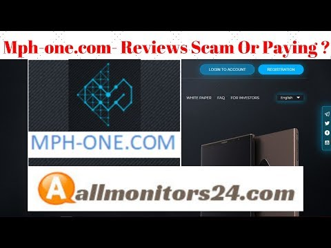 Mph-one.com Reviews Scam Or Paying ?