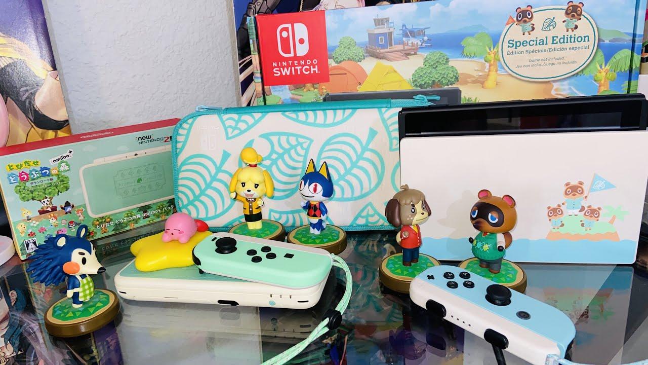 Animal Crossing New Horizons Nintendo Switch [UNBOXING]