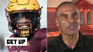 Herm Edwards compares N'Keal Harry to Dez Bryant, explains how Pac-12 can reach the top | Get Up