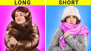 Проблемы коротких и длинных волос Забавные и нелепые ситуации