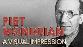 Piet Mondrian Animation: Design And Influence Of Dutch Painter, Piet Mondrian