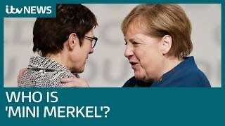 'Mini-Merkel' wins race to replace party leader - but who is she? | ITV News