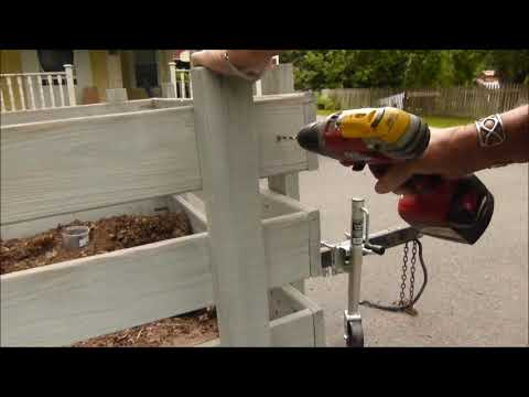 Installing Trailer Corner Brackets
