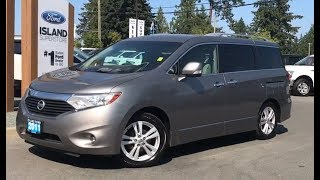 2011 Nissan Quest SL W/ Leather, Power Side Doors, Backup Camera Preview| Island Ford