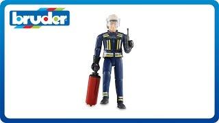Bruder Toys Fire Man #60100