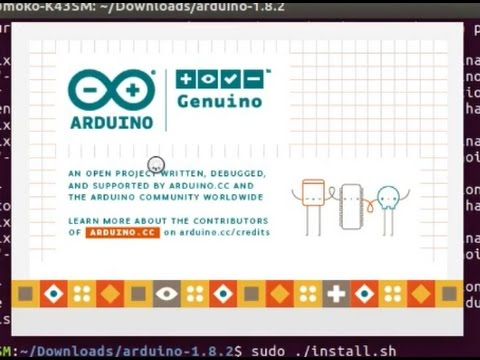Install Arduino IDE On Ubuntu 16.04 From Terminal