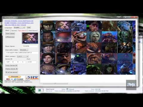 [How To] Play Starcraft 2 Wings of Liberty LAN Online or Offline Using StarFriend
