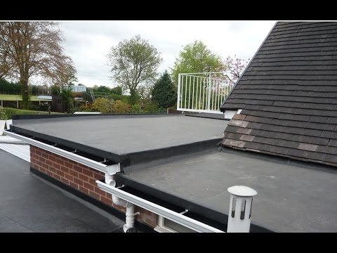 Rubber Roofing Materials For Flat Roofs Ideas
