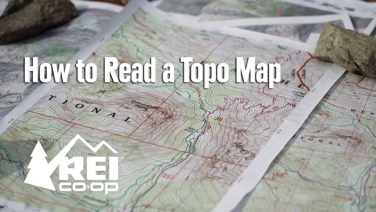 hight resolution of How to Read a Topo Map - YouTube
