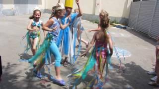 видео Как проходит День Нептуна? Сценарий в лагере с конкурсами