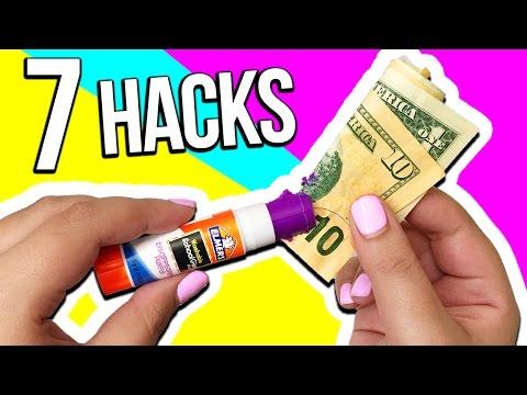 7 School Supplies HACKS & DIYs for BACK TO SCHOOL
