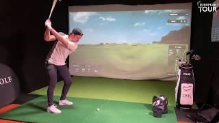 Connor Syme shoots 8 under par at Royal Portrush (Golf Simulator) | BMW Trackman Invitational