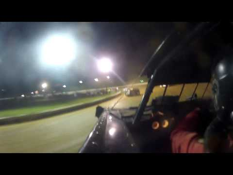 7-6-13 Andy Haus Port Royal Speedway in car video super late model