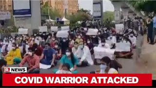 Telangana: Gandhi Hospital Staff Protest Against Attack On Doctors