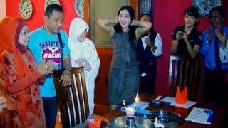 Perayaan Ulang Tahun Anang Hermansyah bersama keluarga - Intens 24 Maret 2013