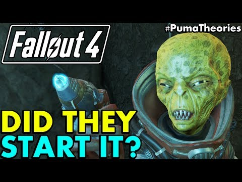 Fallout 4 Theory: Did the Zetan Aliens Really Start or Cause the Great W-A-R? #PumaTheories