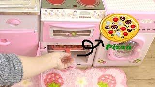かわいいキッチンでほんものピザ!! thumbnail