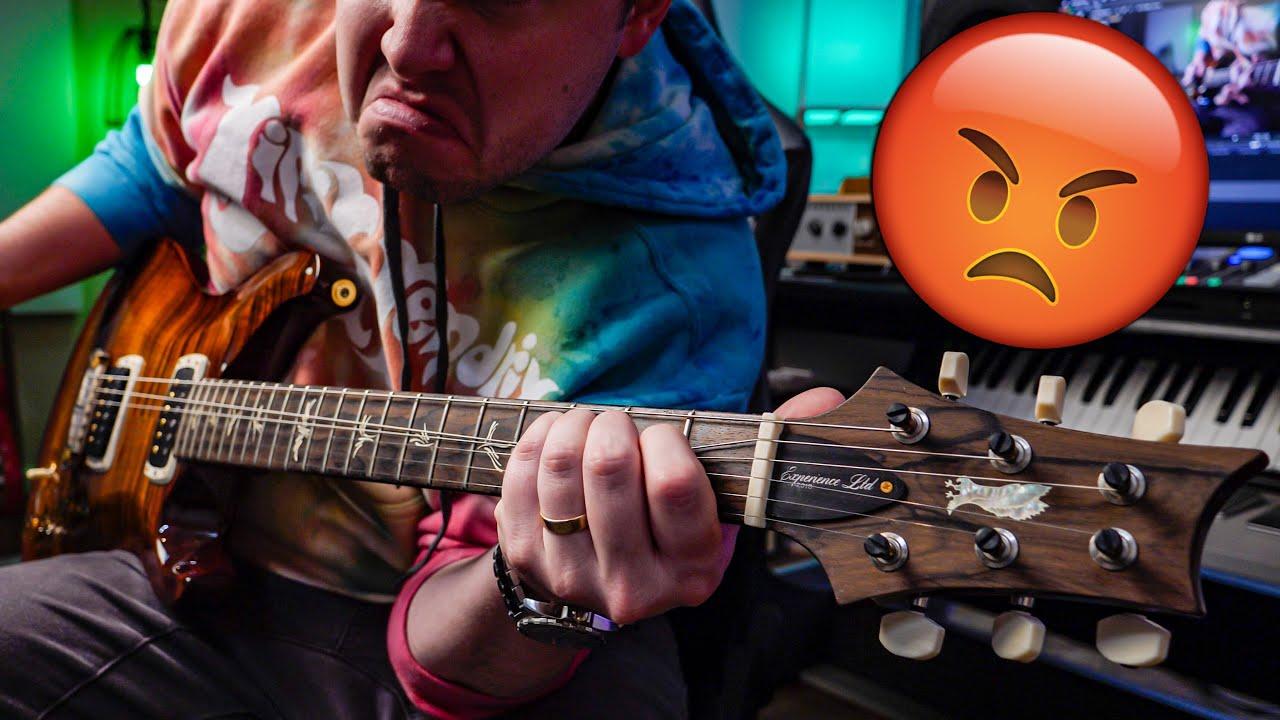 The Top 10 MEANEST Guitar Riffs Ever Written