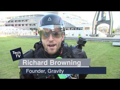 Richard Browning - Founder of Gravity at London Tech Week 2017