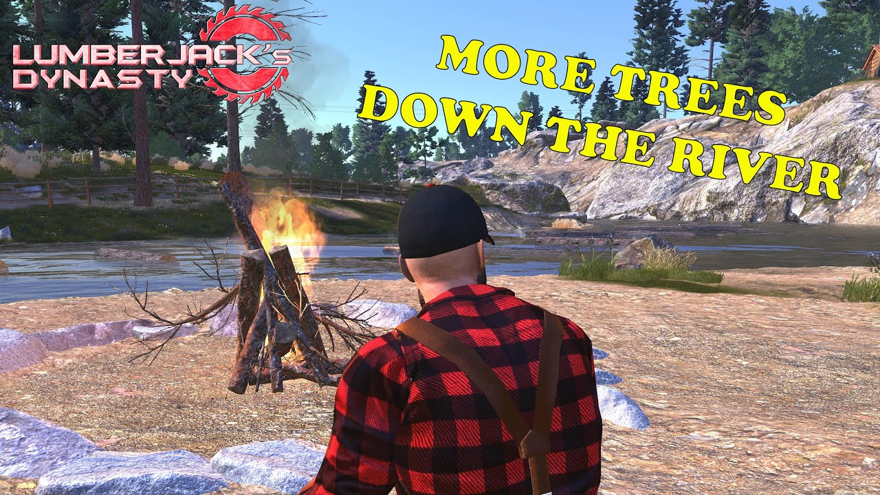 Lumberjack's Dynasty Ep 55 The last of our trees being cut - YouTube